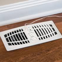 Adjustable Floor Register Deflector by Vent Extender Improvements Catalog