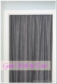Sliding Door Curtain Ideas Pinterest by Best 25 Closet Door Curtains Ideas On Pinterest Closet Door
