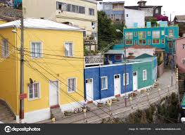 100 Houses In Chile In Valparaiso Stock Photo Ajlber 163977208