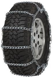 255/55-20 255/55R20 TIRE Chains 5.5mm Link Cam Snow Traction SUV ...