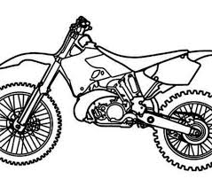 Dirt Bike Coloring Pages Best Of Drawing At Getdrawings