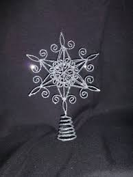 7ft Christmas Tree Uk by 20cm Silver Star Glitter Swirls Christmas Tree Topper Top