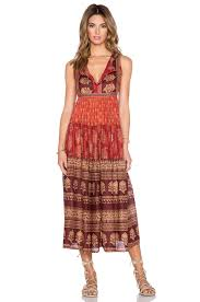 raga indian summer maxi dress in red lyst