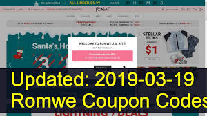 Romwe Coupon Codes: 39 Valid Coupons Today (Updated: 2019-03 ... Fashion Coupons Discounts Promo Coupon Codes For Grunt Style Coupon Code 2018 Mltd Free Shipping Cpap Daily Deals Romwe Android Apk Download Romwe Deck Shein Code 90 Off Shein Free Shipping Puma Canada Airborne Utah Coupons Zaful Discount 80 Student Youtube Black Friday 2019 Ipirations Picodi Philippines