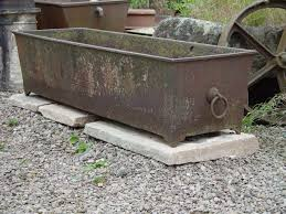 horse trough bathtub an old bath tub is recycled to be used