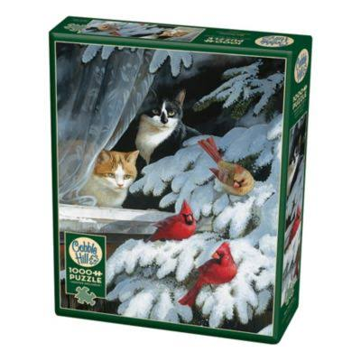 Cobble Hill Bird Watchers 1000 Piece Jigsaw Puzzle