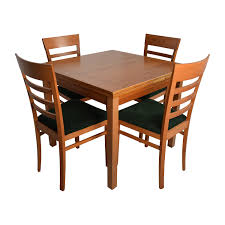 Captains Chairs Dining Room by 35 Off Wholesale Interiors Brown Dining Table Set With Four