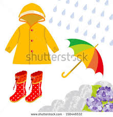 Rain Clipart Rainy Season Clothes Pencil And In Color With Monsoon Clothing