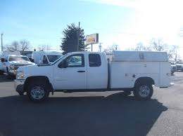100 Truck Utility Body 11 CHEVROLET 2500HD EXTRA CAB UTILITY SERVICE BODY TRUCK Cooley