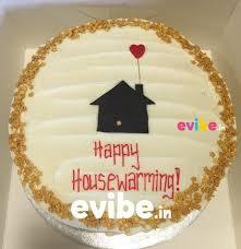 Simple Housewarming Theme Cake
