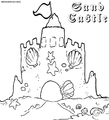 Sandcastle Coloring Pages To Download And Print At Sand Castle Page