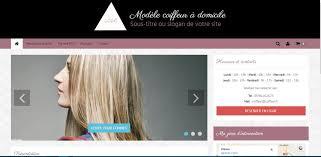 modèle de site de coiffure à domicile celinform tique