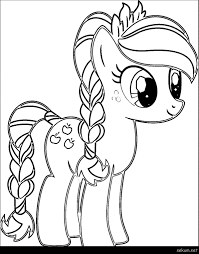 My Little Pony Coloring Pages Princess Luna Filly Free Sheets O Cartoon Page