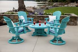 Patio Side Table Metal Outdoor Chaise Lounge Chair