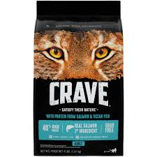 high protein cat food crave grain free cat food with protein from salmon and