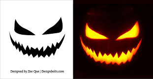 Scariest Pumpkin Carving Patterns by 20 Free Scary Halloween Pumpkin Carving Stencils Faces U0026 Ideas