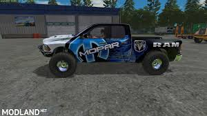 100 57 Dodge Truck FS17 Ram Runner Mod Farming Simulator 17
