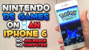 nds4ios Nintendo DS Emulator on an iOS Device NO JAILBREAK