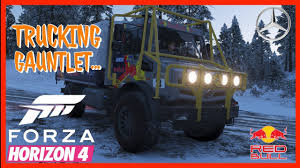 100 Horizon Trucking Forza 4 LiveStream Gaunlet 2400hp Unimog Machine