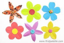 Various 5 Petal Paper Flowers