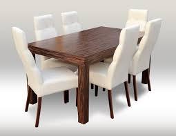 designer esstisch tisch mit 6 stühlen esszimmer gruppe stuhl tische holz neu