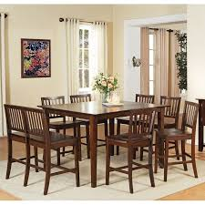 Branson Counter Height Dining Room Set Espresso