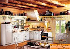 Kitchen In A Rustic Style Photo 2