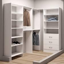 tidysquares inc demure design 93 w closet system wayfair