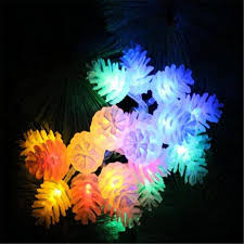 Pine Cone Christmas Tree Lights by Online Buy Wholesale Pinecone Christmas Lights From China Pinecone