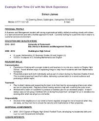 Resume Template For Students First Job Time Teacher Examples 61