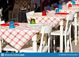 Set Tables In A Italian City Street For Outdoor Dining With Gingham ... Christmas Lunch Laid On Farmhouse Table With Gingham Tablecloth And Rustic Country Ding Room With Wooden Table And Black Chairs 100 Cotton Gingham Check Square Seat Pad Outdoor Kitchen Chair Cushion 14 X 15 Beige French Lauras Refresh A Beautiful Mess Bglovin Black White Curtains Home Is Where The Heart Queen Anne Ding Chairs Painted Craig Rose Pale Mortlake Cream Laura Ashley Gingham Dark Linen In Cinderford Gloucestershire Gumtree 5 Top Tips For Furnishing Your Sylvias Makeover Emily Henderson