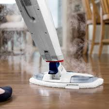 Bissell Hardwood Floor Cleaners by Bissell Powerfresh Deluxe Steam Mop Brite White Sapphire Blue