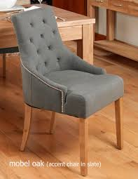 100 Dining Room Chairs With Oak Accents Mobeloakaccentupholstereddiningchairstonepackoftwo16jpg