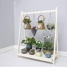 yds shop blume pflanze regal holz vertikal hängende pflanze
