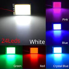 100 Interior Truck Lighting Auto Parts Accessories White 48 SMD COB LED T10 4W 12V Car
