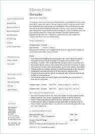 Resume Examples For Waitress Waiter Hostess