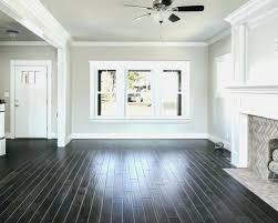 Dark Hardwood Floors Bedroom Beautiful Wood With Grey Walls Od White Trim