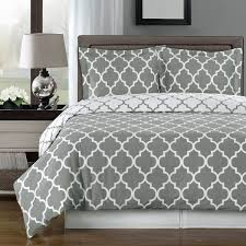 Bed Set Gray And White Bedding Sets