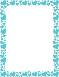 Free Red And Pink Heart Border Templates Including Printable Paper Clip Art Versions File Formats Include GIF JPG PDF PNG