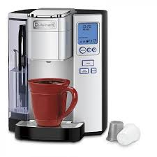 Cuisinart Single Serve CoffeeMaker Brewing System With 5 Cup Sizes Large 72 Oz Water Reservoir