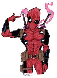 Second A Deadpool Drawing Ive Been Wanting To Do Prisma Color On Bristol