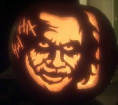 Joker Pumpkin Carving Patterns by Haunted Carving Gallery