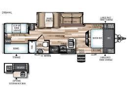 Wildwood Fifth Wheel Floor Plans Colors Wildwood Heritage Glen Hyper Lyte Travel Trailer Rv Sales 9