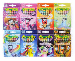 Crayola Bathtub Crayons Collection by 16 Count Tip Collection Crayola Crayons What U0027s Inside The Box