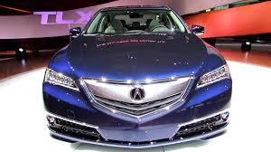 2015 Acura TLX Exterior and Interior Walkaround Debut at 2014