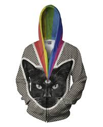 cat hoodies black cat hoodie