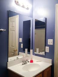 replacing bathroom medicine cabinet with open air shelf guide
