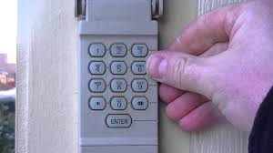 How to reset your garage door keypad pin number