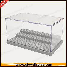 Acrylic Assembling Lego Minifigure Display Case