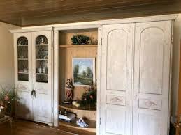 hochwertige wohnzimmer schrank naturholz domicil